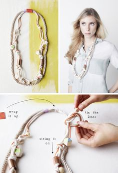 Make it Happen: A #Rope #Necklace, Three Ways on the #AnthroBlog #Anthropologie
