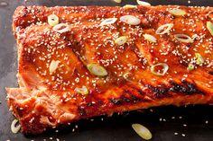 Miso-Ginger Glazed Salmon