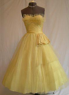 . wedding dressses, party dresses, vintage prom dresses, 1950s, color, bridesmaid dresses, vintage party, beauty, parti