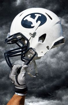 BYU Football Helmet