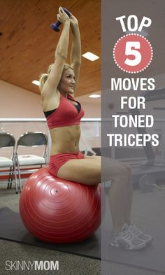 Top 5 Moves for Toned Triceps from Skinny Mom creator, Brooke Griffin!