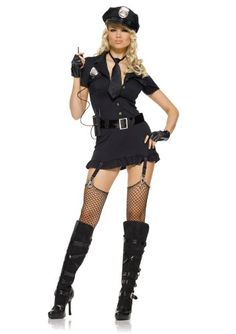 Women's Dirty Cop Dress - If you've got the figure, you go girl!