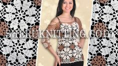 CROCHET BLOUSE FOR WOMEN Model 24.  http://sheruknitting.com/patterns/item/606-crochet-blouse-for-women.html his beatiful crocheted blouse is made of round motifs and decorated with beads.