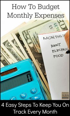 How To Budget Monthl