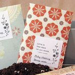 DIY Seed Packet Printables & Templates. party favors, gift, wedding favors, scrapbook paper, seed packets, seeds, garden, printabl, clay pots