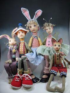 Dianne Adam's beautiful dolls!