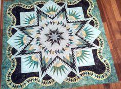 niemey pattern, glacier star, star quilt