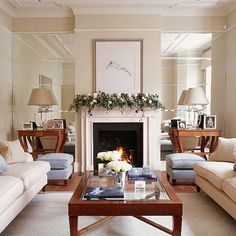 Contemporary living room | Living room furniture | Decorating ideas | Image | Housetohome