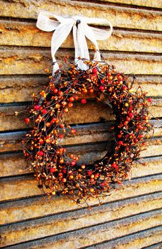 Fall wreath tutorial