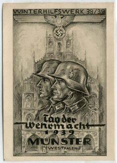 MÜNSTER,Westf. - TAG der WEHRMACHT 1939,