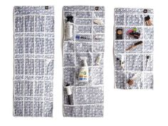Use hanging organizers to easily organize everything from makeup to cleaning supplies