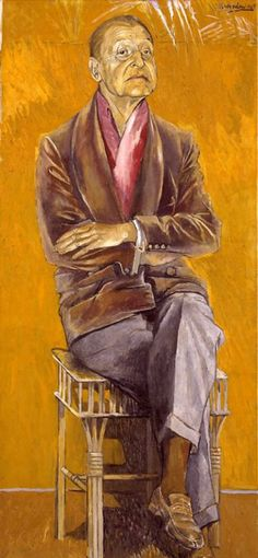 Portrait of Somerset Maugham,c. 1949 by Graham Sutherland (1903-1980).