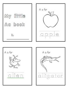 Letter A -recognition -beginning sound