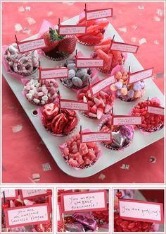 DIY Valentine Candy & Love Note Muffins