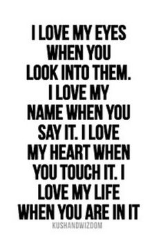 I really do love you!  It never changed and I wish you would talk to me.  I don't know what you are thinking or the things and questions going through your head, but the only way you will know the answers is if you talk to me.  I wish I knew what you were so confused about....
