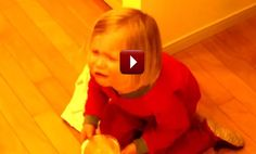 Being Asked To Carry Her Bowl To The Sink, This 3-Year-Old Girl's Reaction Deserves An Oscar!