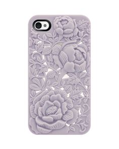 Never lose your grip again! This pretty case is also textured to make it easier to hold.