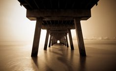 Pier at Tybee Island. 30 second long exposure.
