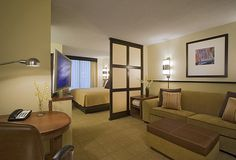 Hyatt Hotel in Chicago suite that would work for a studio apartment.