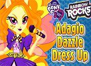 MLP Rainbow Rocks Adagio Dazzle | juegos my little pony - jugar mi pequeño pony