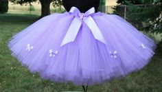 butterfly tutu for Claire's costume?