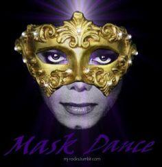 Beautiful masked Michael