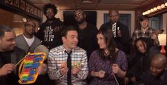 Watch Jimmy Fallon, Idina Menzel & The Roots Sing 'Let It Go' With Classroom Instruments!