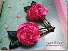 Ribbon hair accessories
