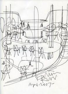 A nice sketch by Karim Rashid