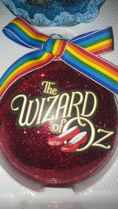 Wizard of oz ornament