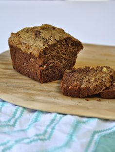 Two Blue Lemons: After School Snacks: Wholesome Banana Bread
