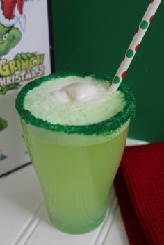 Grinch Punch - Fun Christmas Recipe