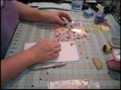 Scrapbook Tutorial - Kathryn's Paper Bag Mini Album, Video 3 of 5