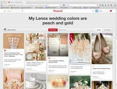 http://www.pinterest.com/SimplyTiff08/my-lenox-wedding-colors-are-peach-and-gold/