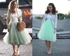 DIY tulle skirt by MissTuna