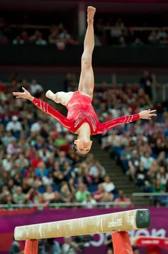 Kyla Ross, gymnast, gymnastics, balance beam #KyFun m.3.37  moved from @Kythoni Aly, Gabby, Kyla, Jordyn (Raisman, Douglas, Ross, Wieber) board http://www.pinterest.com/kythoni/aly-gabby-kyla-jordyn-raisman-douglas-ross-wieber/
