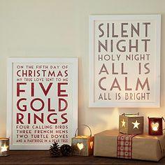 Festive prints