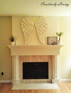 DIY Huge, Awesome Angel Wings!
