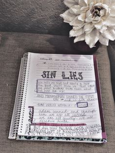 Bible study journaling, She reads truth: this is the gospel