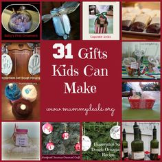 31 Gifts Kids Can Ma