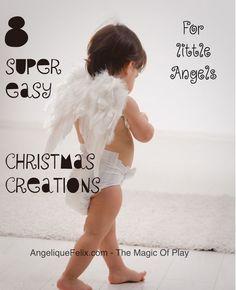 8 super makkelijke kerst creaties voor kleine engeltjes :)
