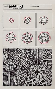 flickr for zentangle