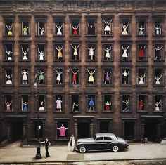 Girls In The Windows, photo by Ormond Gigli, 1960