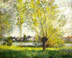 Les Saules-Claude Monet (by BoFransson)