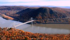 Detour for the Hudson Valley / New York #lproadtrip | Bear Mountain State Park | The stupendous view from Bear Mountain's peak (1305ft) takes in the Manhattan skyline on a clear day, and is well worth the detour | Check out the 4 proposed US roadtrips on our board and pin your own proposed 'detour' with the #lproadtrip hashtag, for the chance to WIN a bundle of Lonely Planet Best Trips books! (Image by Dave Overcash via https://flic.kr/p/gBLuQc)