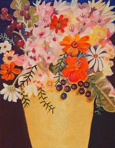 Flowers by cate edwards, via Flickr