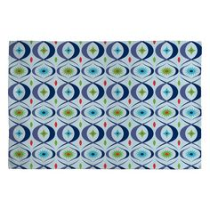 DENY Designs Home Accessories | Andi Bird Boogaloo Jewel Woven Rug