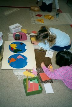 Inspired Montessori and Arts at Dundee Montessori: For the Love of Earth