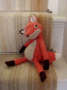 Fox for woodland nursery theme :)