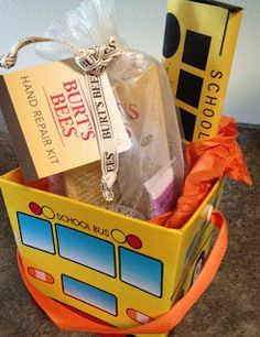 Last Day of school gift for bus driver
